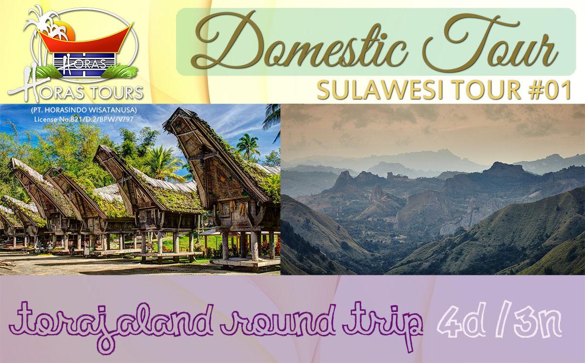 Torajaland Round Trip Vacation