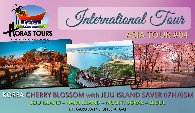 Korea Cherry Blossom & Jeju Island Tour