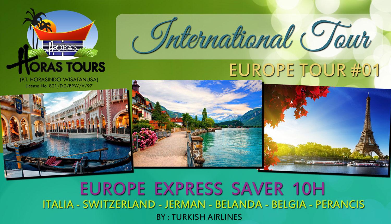 Tur Keliling Eropa Express