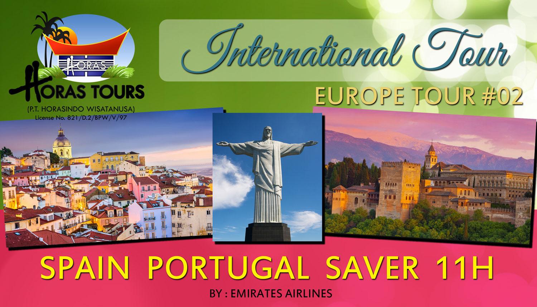 Spanyol Portugal Tour Hemat